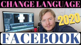 How To Change Facebook Language To English On Phone 2020