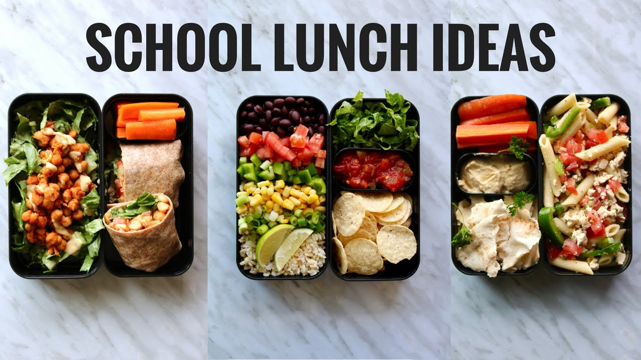 VEGAN SCHOOL LUNCH IDEAS BENTO BOX