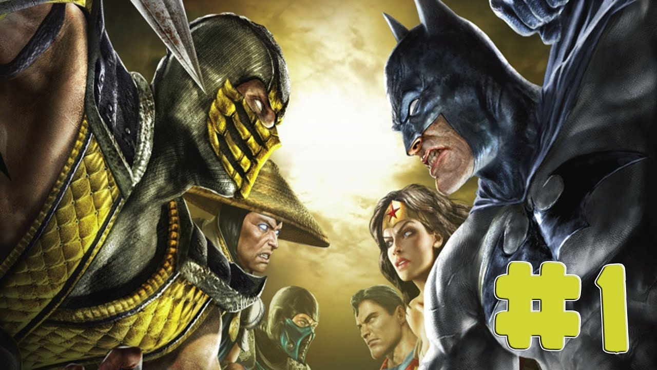 Mortal Kombat vs DC Universe - Walkthrough - Part 1 - Chapter 1: Liu Kang [HD]