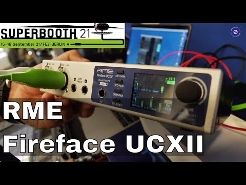 SUPERBOOTH 2021: RME New Interfaces