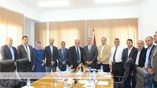 جولة وزير الاتصالات و تكنولوجيا المعلومات أ. د  علام موسى