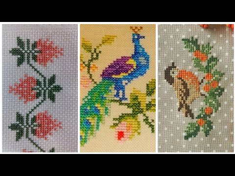 Awesome Cross Stitch Beautiful Different patterns design
