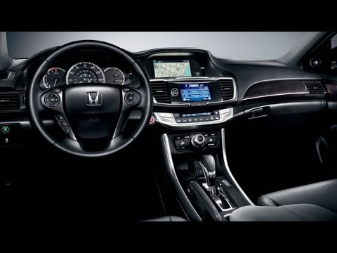 Honda - 2015 Honda Accord Interior - YouTube
