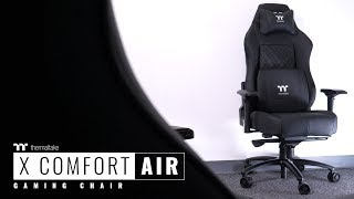 The X Comfort Air Gaming Chair Video