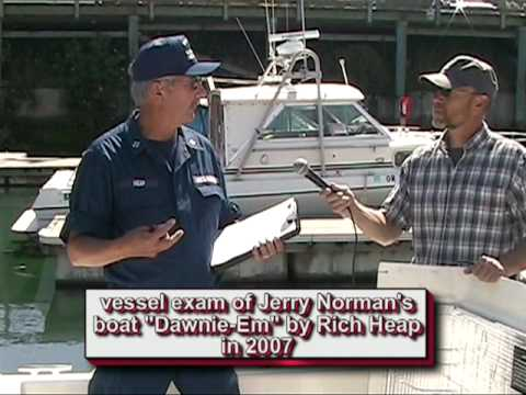 Vessel Safety Check (Examination/Inspection)