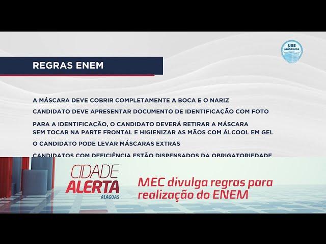 MEC divulga regras para realização do ENEM