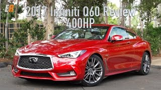 new 2017 infiniti q60 red sport 400 review what a stunner