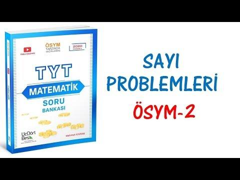 (2020) 345 TYT MATEMATİK SAYI PROBLEMLERİ ÖSYM-2 ÇÖZÜMLERİ