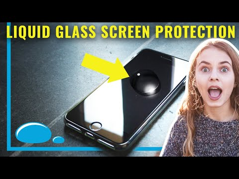 Liquipel Liquid Glass, THE ULTIMATE SCREEN PROTECTION, for phones and wearables!