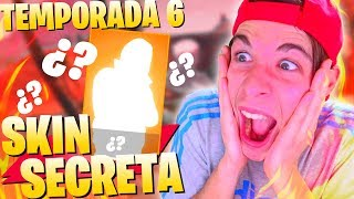 Video de **FORTNITE TEMPORADA 6** SE VA A LIAR EN EL CIELO CON LA SKIN SECRETA FORTNITE Battle Royale