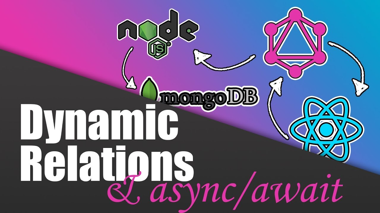 Build a Complete App with GraphQL, Node.js, MongoDB and React.js | Dynamic Relations