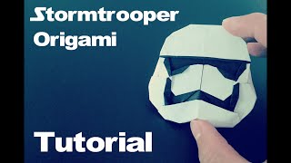 Origami First Order Stormtrooper Tutorial (Star Wars Force Awakens)