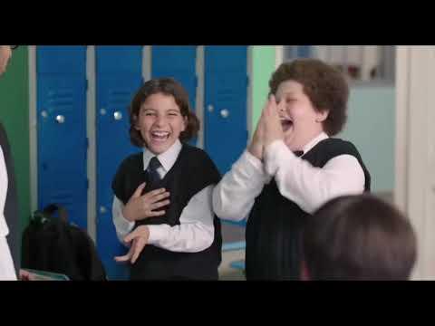 مسلسل ريح المدام  - بهجت وسلطان بيحفلوا على الأطفال في المدرسة