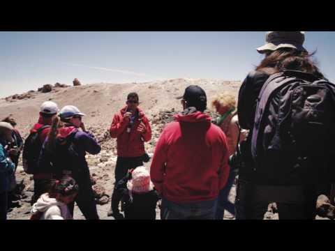 Teide en familia, video  de la visita guiada al Mirador del Pico Viejo para familias