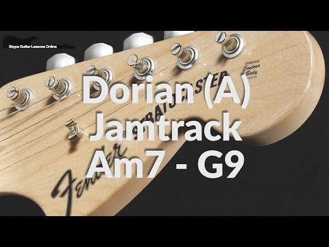 A Dorian Jam Track Relaxed Grove - 110 bpm
