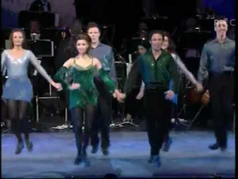 Riverdance perform at Dublin Concert for Queen Elizabeth II 19th May 2011