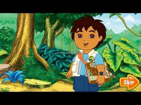 Go Diego Go Rain Forest - Cartoon For Children ! Best Games - YouTube