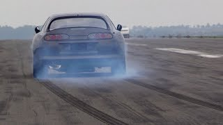 1050HP Toyota Supra - INSANE 0-296 km/h LAUNCH!