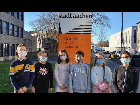 Virtueller Rundgang durchs Geschwister-Scholl-Gymnasium Aachen