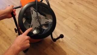 Видео обзор промышленного обогревателя Vitals EH-30 3кВт