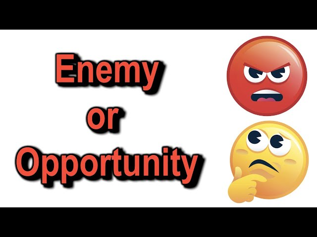 Enemy or Opportunity - 1 Timothy 2:1-4 – August 16th, 2020