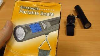 Электронные весы с фонариком для  рыбака!