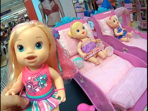 511bf17916 Baby Alive berçário berços boneca Comilona Cabelos Fashion Hora Chá Xixi  Bons Sonhos Toys Kids
