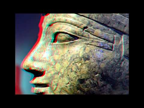 Ancient Egypt in RMO Leiden  anaglyphs