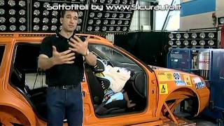 Seggiolini AUTO - Crash test pericoli airbag anteriore ADAC  [SUB ITA]