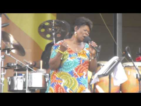 Irma Thomas at New Orleans Jazz Fest 2014 04-27-2014 #3