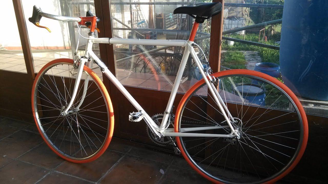 Restauracion bicicleta de carreras, cambio de imagen de antigua ...