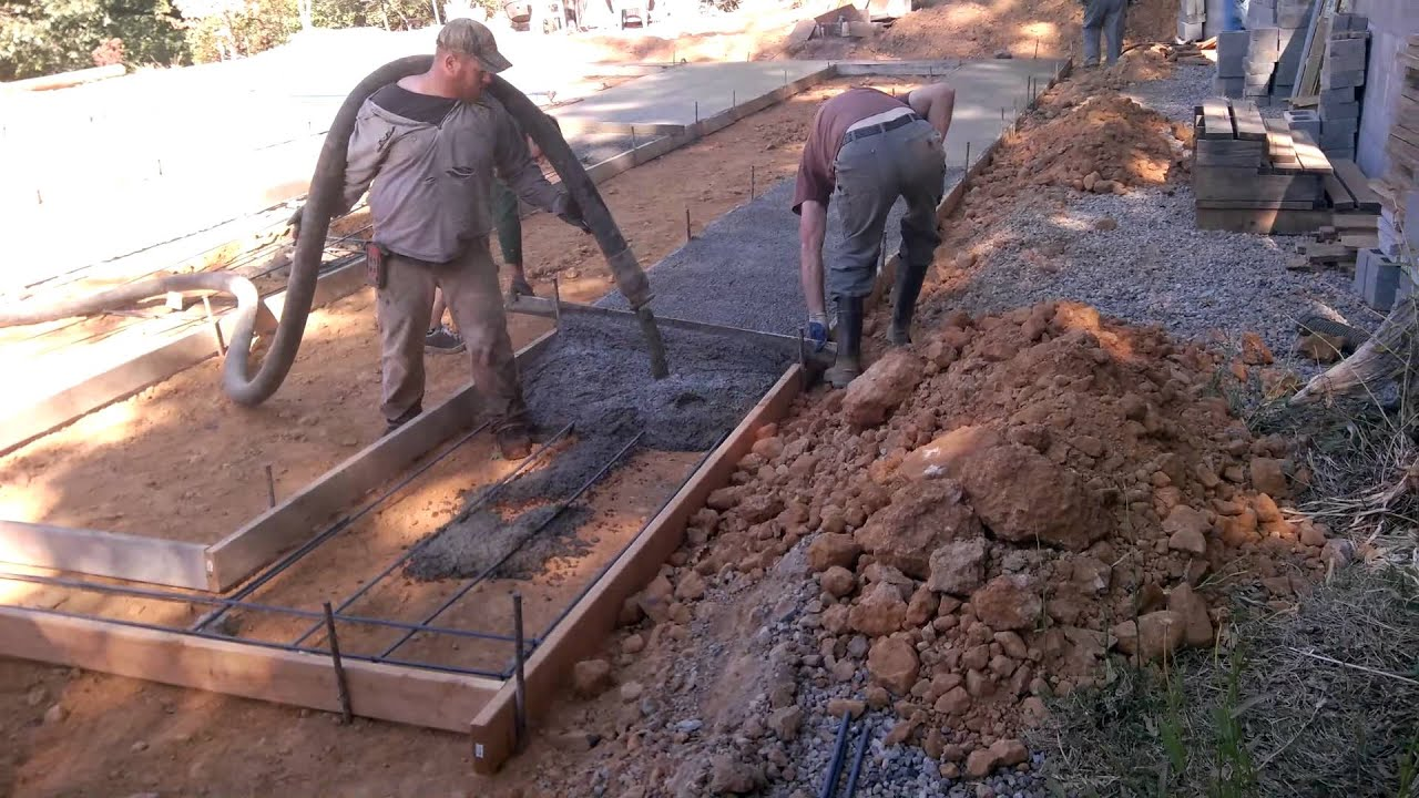 Fry 39 s construction manufactured home concrete foundation for Foundation for homes