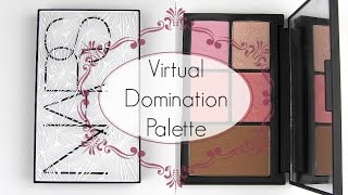 NARS Virtual Domination Palette: Live Swatches & Review Thumbnail