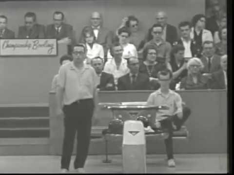 Championship Bowling: Ed Bourdase vs Dick Downey 1964 1965