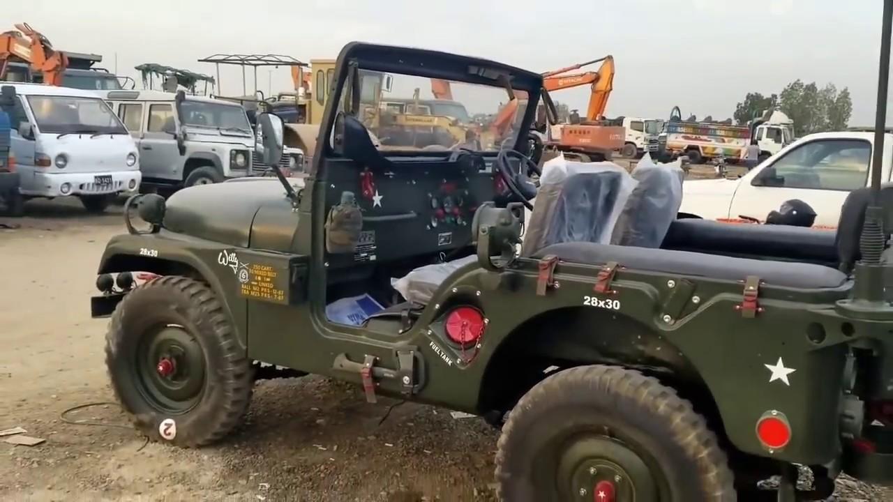 Modified Jeep  15 Army Auction Isuzu 4x2 Trucks  for Sale in Karachi