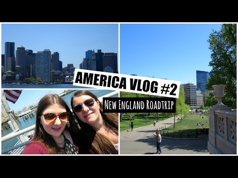 America Vlog #2 - Roadtrip Around New England   Lizzie Gines