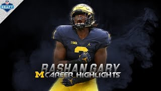 Rashan Gary Michigan Highlights - Athletic Freak