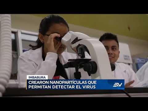 ECUAVISA (22-04) Yachay busca triplicar pruebas de COVID