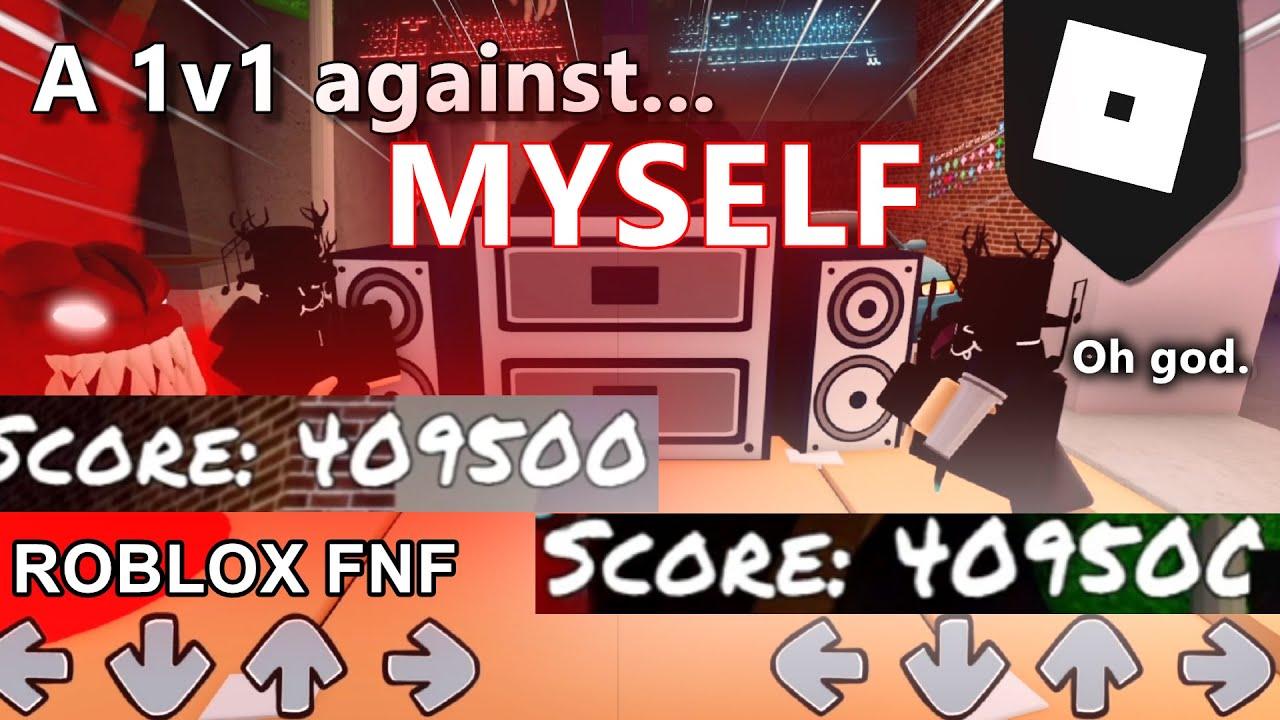 A 1v1 against MYSELF in ROBLOX Friday Night Funkin'