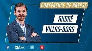 André Villas-Boas l Sa première conférence