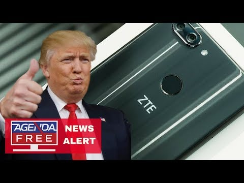 Trump Says He'll Save Chinese Company ZTE - LIVE BREAKING NEWS COVERAGE
