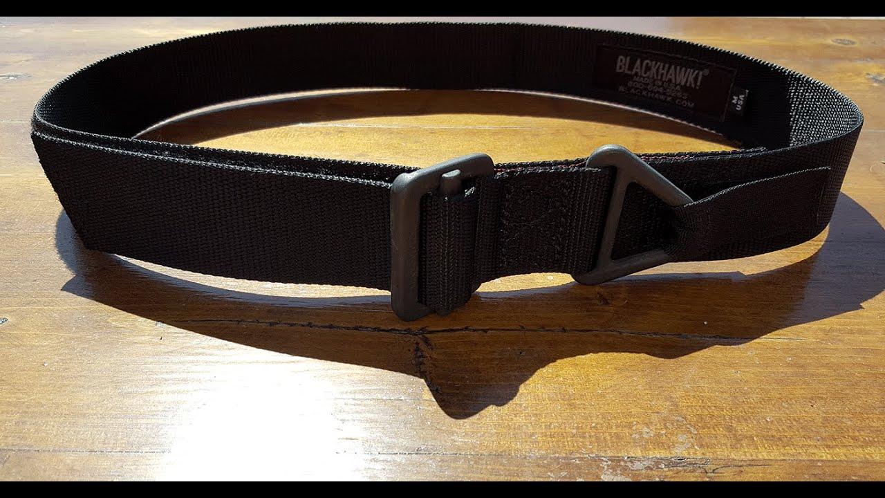 Review of the BLACKHAWK! CBQ/Riggers Tactical Belt