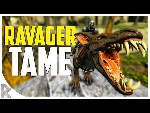 RAVAGER TAMING! - How to Tame a Ravager! - Ark Aberration Expansion Pack DLC EP#5