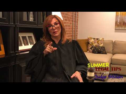 The People's Court - Legal Tips with Judge Milian - Summer