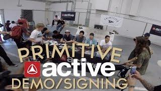 Paul Rodriguez l Primitive Active Demo/Signing