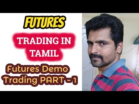 Futures Trading Strategy - Intraday Demo with Live Market