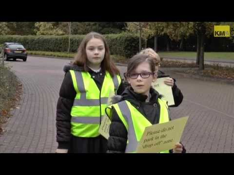 Pupils rule the road at Kings Hill School, Malling