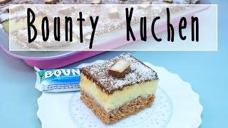 BOUNTY KUCHEN REZEPT   Bounty Blechkuchen selber machen [einfach & schnell]