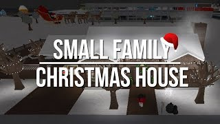ROBLOX | Welcome to Bloxburg: Small Family Christmas House 78k