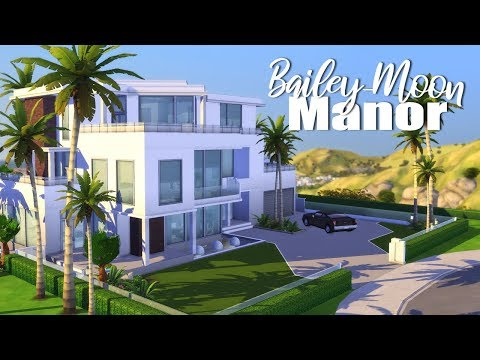 Bailey-Moon Manor 🤩🎬🎤 \ Get Baemous Collab || The Sims 4: Speed Build
